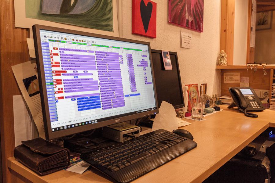 Büro im Landhotel Hirschen