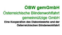 Logo ÖBW - Österreichische Blindenwohlfahrt gemeinnützige GmbH